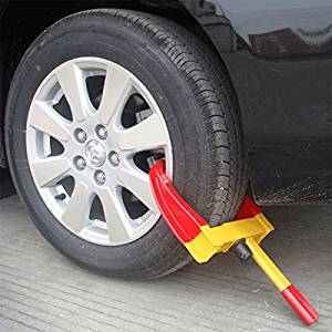 KCT wheel security clamp