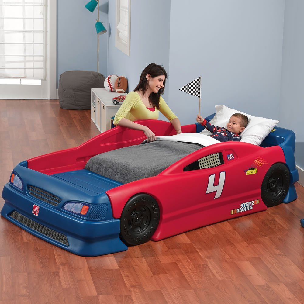 step2 stock racing car bed