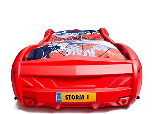 storm car bed for kids racing car