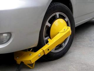 best car wheel clamp